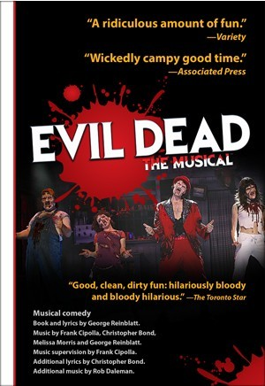 Evil Dead The Musical Logo Pack