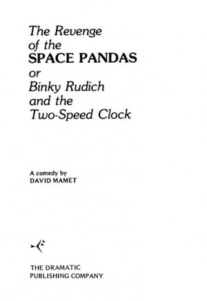 The Revenge of the Space Pandas or Binky Rudich and the Two-Speed Clock