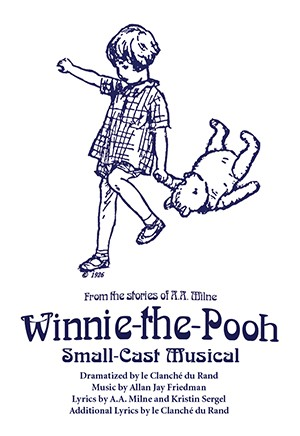 Winnie-The-Pooh Touring Small Cast Musical Cover W72000