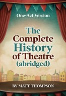 Complete History of Theatre (abridged) (One-Act Version) Cover CR8000