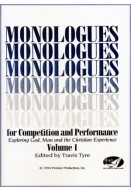 Monologues for Competition and Performance: Volume I