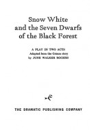 Snow White and the Seven Dwarfs of the Black Forest